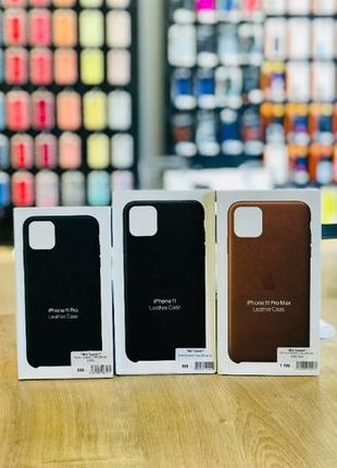 Чохли Leaher Case iPhone 7-8/7-8 Plus/X-Xs/Xr/XsMax/11/11Pro/1...