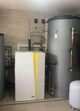 Установка тепловых насосов