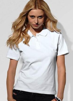 Школьная подростковая спортивная белая футболка поло marks&spe...