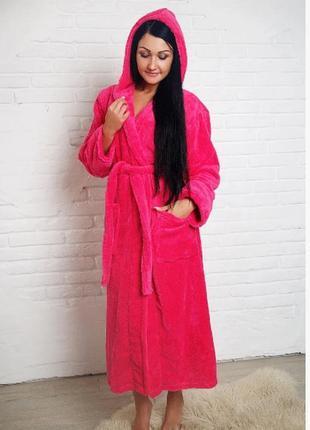 Женский махровый халат ,в наличии размеры расцветки турция
