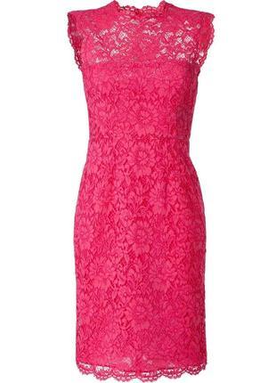 Кружевное гипюровое нарядное вечернее выпускное платье lipsy м...