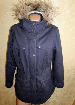 40 eur. стильная куртка - парка mantaray теплая. made in vietnam