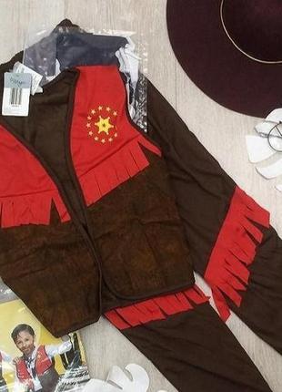Crane германия карнавальный костюм ковбоя девочке мальчику 3 6...