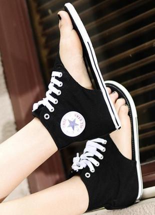 39 разм. стильные сандалии converce all star. made in vietnam
