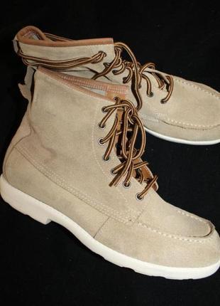 43 разм. ботинки vagabond. замша. made in vietnam