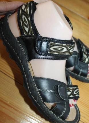 39 разм. сандалии rieker antistress. кожа