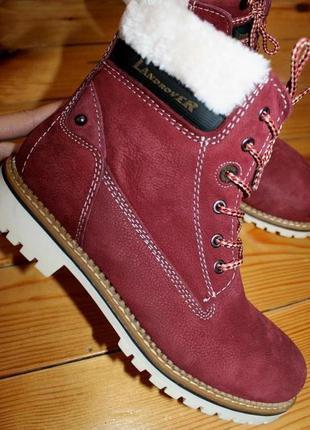 41 разм. ботинки landrover. кожа высокого качества.