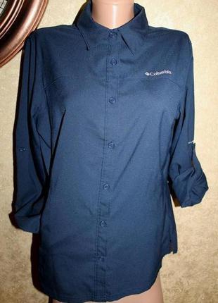 M разм. рубашка columbia omni - shade. made in vietnam