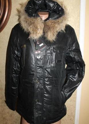 46-48, 50-52, 52-54 р. зимний термо пуховик cayori fashion. ме...