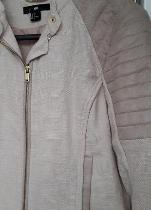 Женская куртка косуха демисезон короткая на молнии стеганая ов...