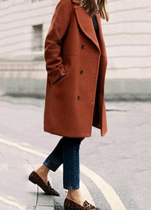 Женское пальто eastex демисезон весна осень оверсайз полупальт...