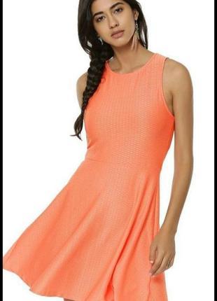 New look летнее яркое фактурное платье сарафан
