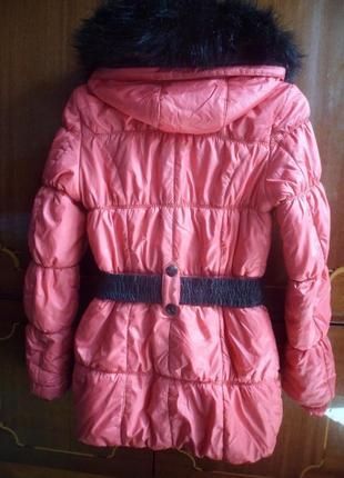 Женская теплая куртка зимнее пальто на синтепоне