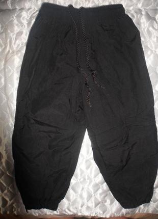 Теплые штаны на мальчика 1 2 3 года демисезон осень зима