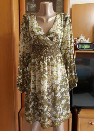 Платье из шифона ,не короткое sale