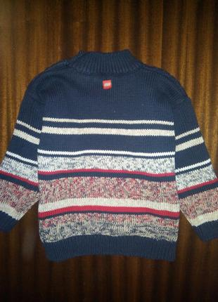 Тёплый свитер кофта на мальчика