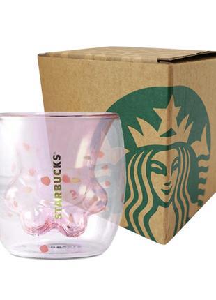 Чашка Starbucks (кошачья лапка)