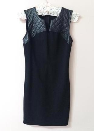 Чорное платье supertrash, елегантное, утончонное
