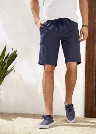 Стильные мужские шорты карго бермуды livergy германия