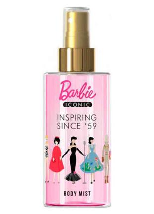 Спрей для тела bi-es barbie iconic inspiring since '59 150 мл