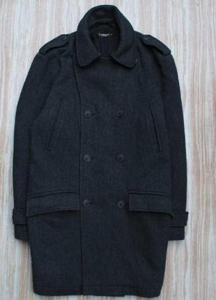Стильное шерстяное пальто №33