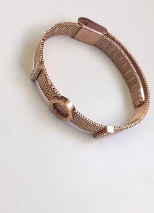 Женский браслет из нержавеющей стали + красивая упаковка в под...