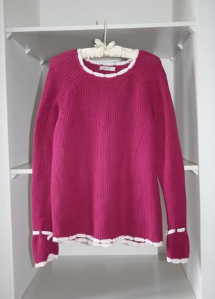 Яркий милый свитер с завязкой на рукавах №3