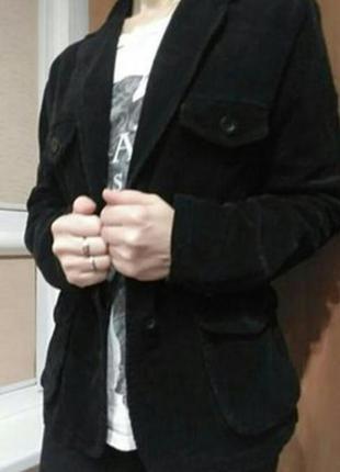 Пиджак женский велвет