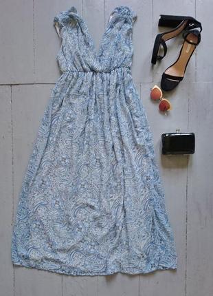 Шифоновое макси платье в греческом стиле №511
