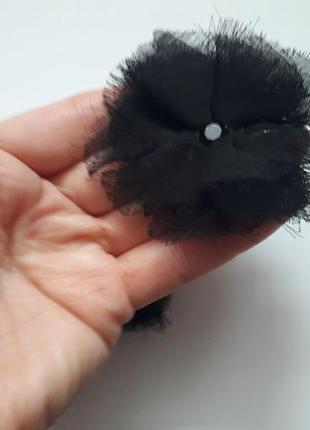 Міні заколки чорні для волосся accessorize