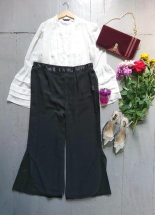 Роскошные шифоновые нарядные брюки №295