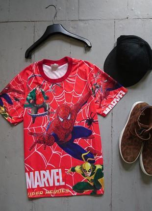 Стрейчевая футболка с принтом spiderman №55