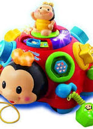 Муз. развивающая игрушка 0957 муз., свет, мелодии, звуки природы,