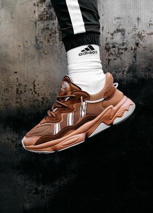 Кроссовки адидас коричневые, adidas brown