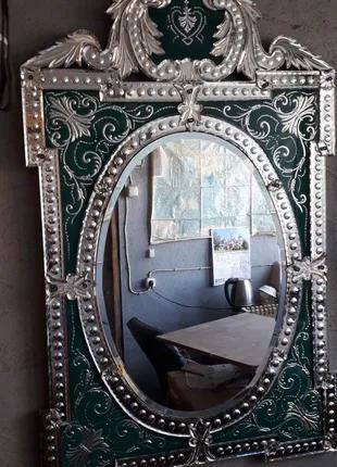 Венецианские зеркала на заказ. Зеркало Мурано