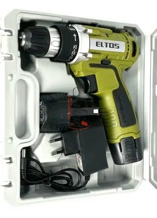 Шуруповерт аккумуляторный Eltos ДА 12 Li-ion