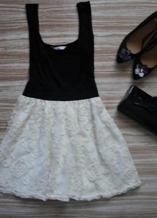 Милое платье с пышной юбкой #341