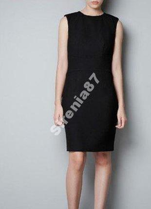 Теплое шерстяное платье №19 zara