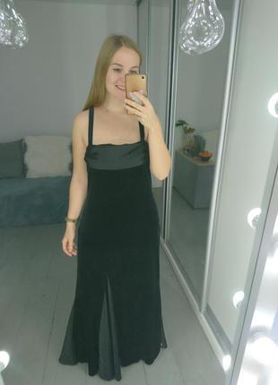 Роскошное вечернее платье из бархата №504