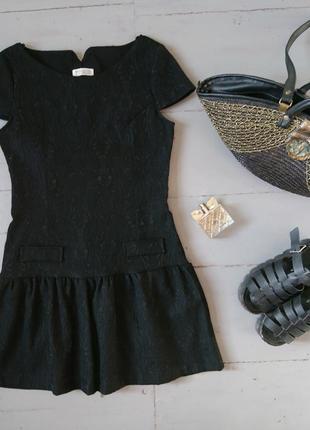 Нереально красивое плотное жаккардовое платье №508