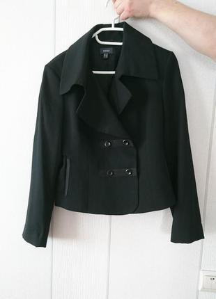 Женский черный пиджак mexx, жакет, пиджачок