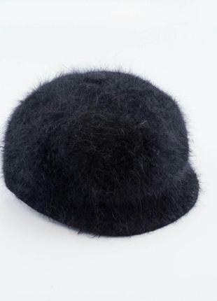 Sale 30%  ангоровая шапка кепи