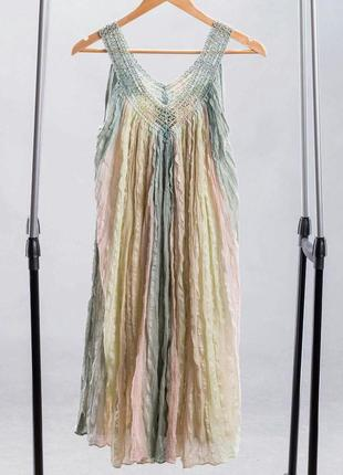 Винтажное летнее платье сарафан.