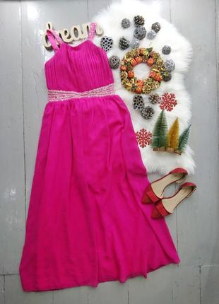 Нарядное вечернее макси платье №450