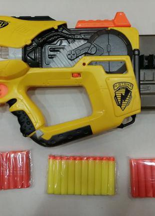 Нерф Фаер Флай б.у. + 30 пуль Nerf N-strike Firefly rev-8
