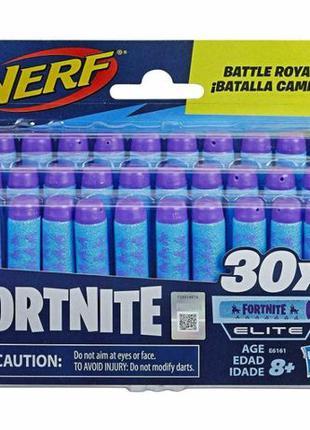 Оригинальные пули Нерф Серии Фортнайт NERF Fortnite darts - 30...
