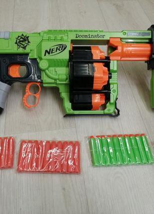 Нерф Думинатор ЗомбиСтрайк б.у. Nerf Zombie Strike Doominator ...