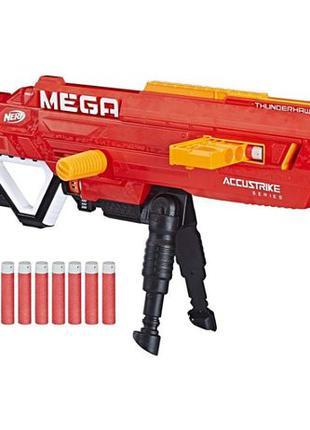 Нерф Мега Фандерхок (Nerf Accustrike MEGA Thunderhawk) + доп пули