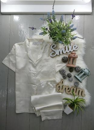 Нежная сатиновая пижама