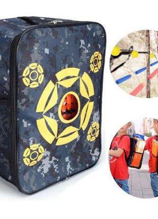 Удобный рюкзак ( мишень ) для бластеров и пулек Нерф
